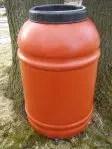 Terracotta Rain Barrel