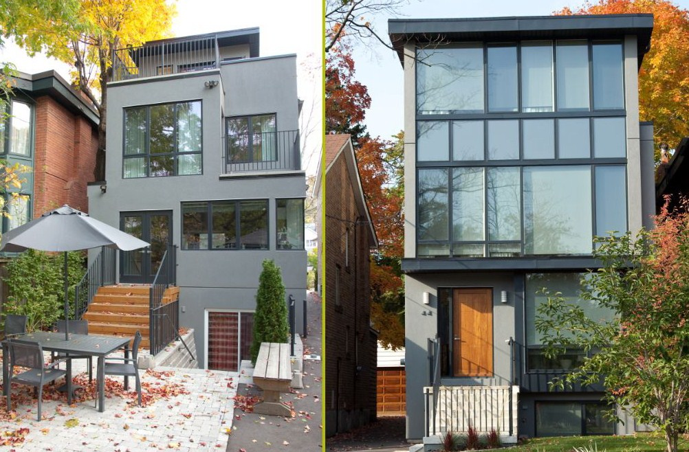 Toronto residence with Inline Fiberglass windows