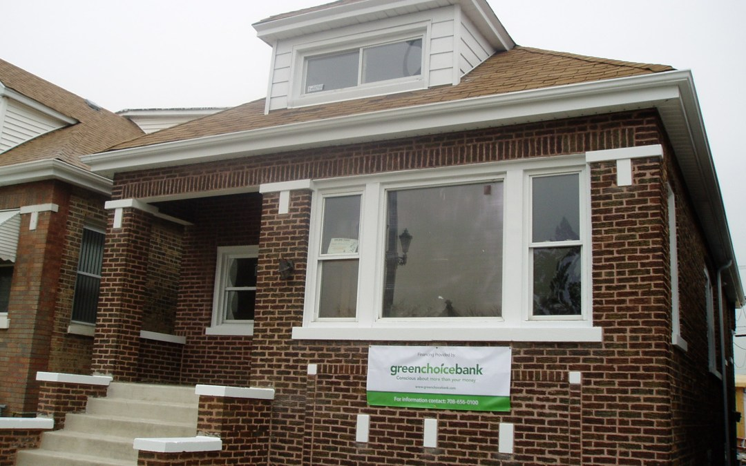 """3 Bedroom """"Green"""" Chicago Home for sale: $129,900 (and you thought a green home had to be expensive)"""