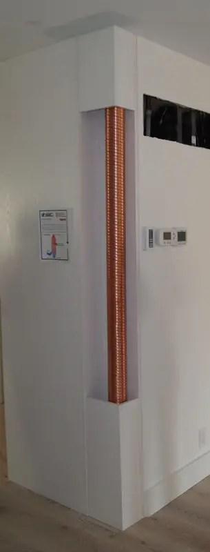 Powerpipe drainwater heat recovery pipe