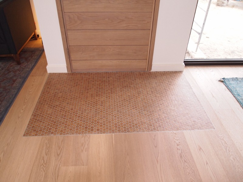 Jelinek inlaid cork floor