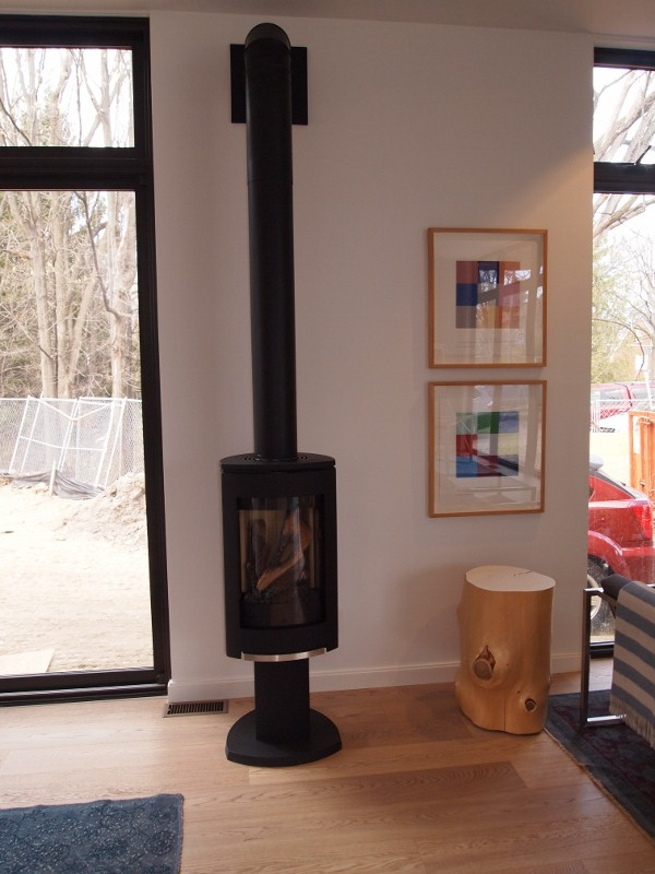 Jotul cast iron fireplace