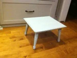 Completed step stool. Hooray!
