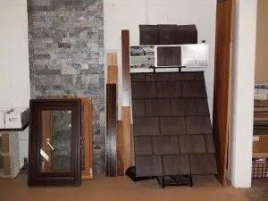 Enviroshake recycled rubber roofing tiles
