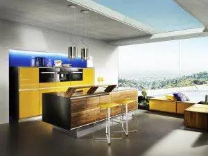 Vao Kitchen, yellow