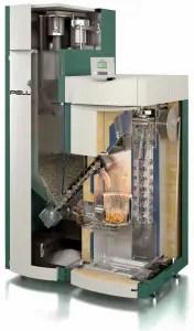 Pellergy Boiler Cutaway