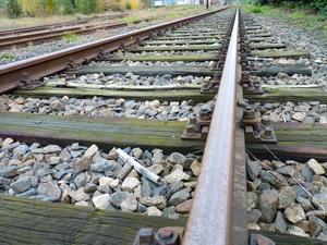 Bahn, Gleis, Reise, weit