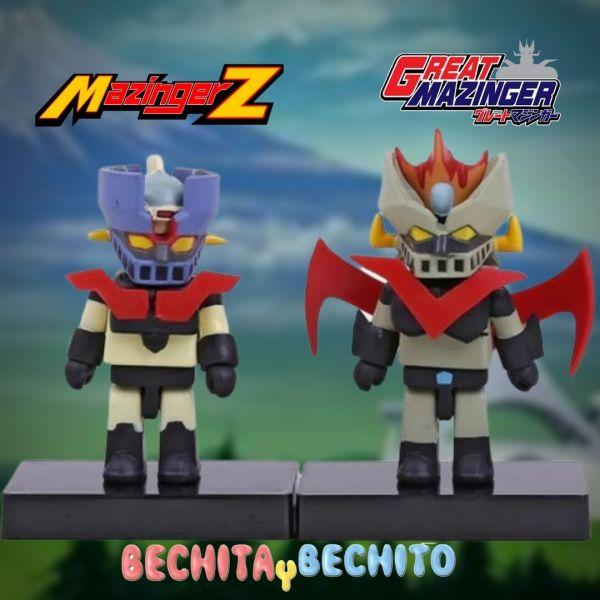 Mazinger z y Gran Mazinger Doble Pack chibi
