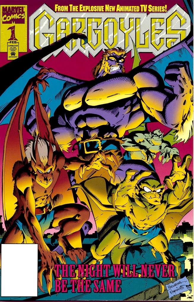 the gargoyles marvel comics