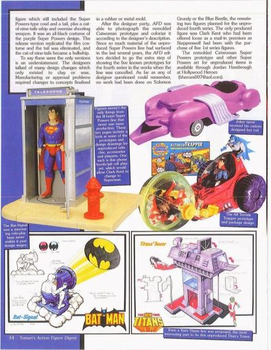 Super Powers o Super Amigos Historia de sus figuras bechita y bechito