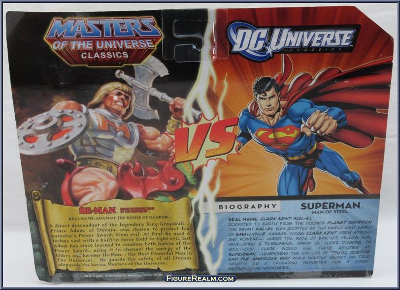 DC Universe vs Masters of the Universe SupermanHeMan Back