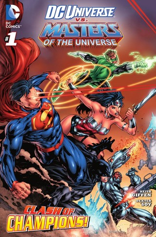 DC Universe vs Masters of the Universe comic 1