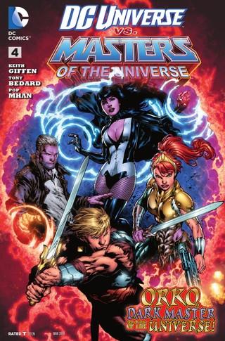 DC Universe vs Masters of the Universe comic 4