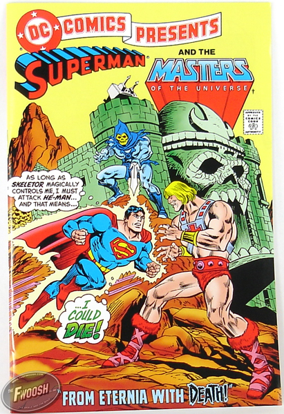 DC Universe vs Masters of the Universe comics heman