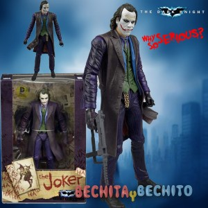 Joker Neca Heath Ledger Bootleg