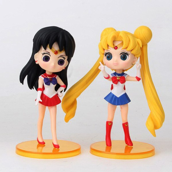 Sailor Moon Gashapones x 6 figuras b