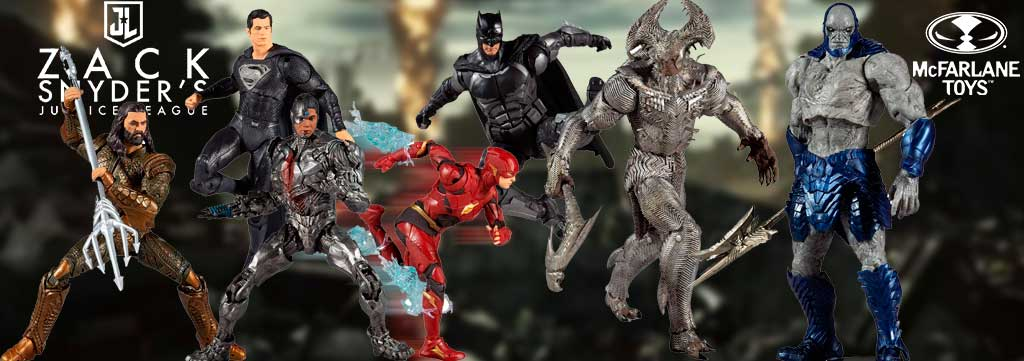 justice league snyder cut mcfarlane toys