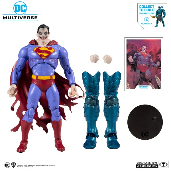 superman the infected mcfarlane toys