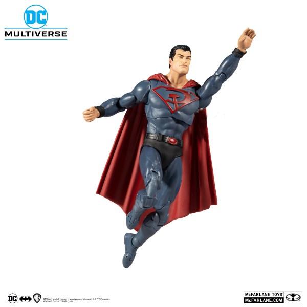 superman red sun MCFARALANE TOYS