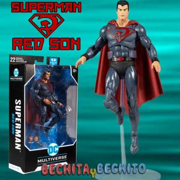 superman red sun mcfarlane