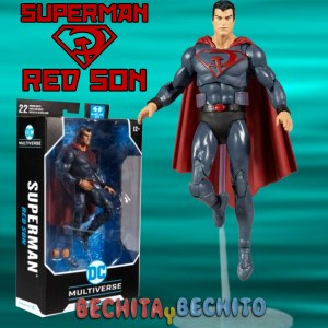 superman red sun mcfarlane