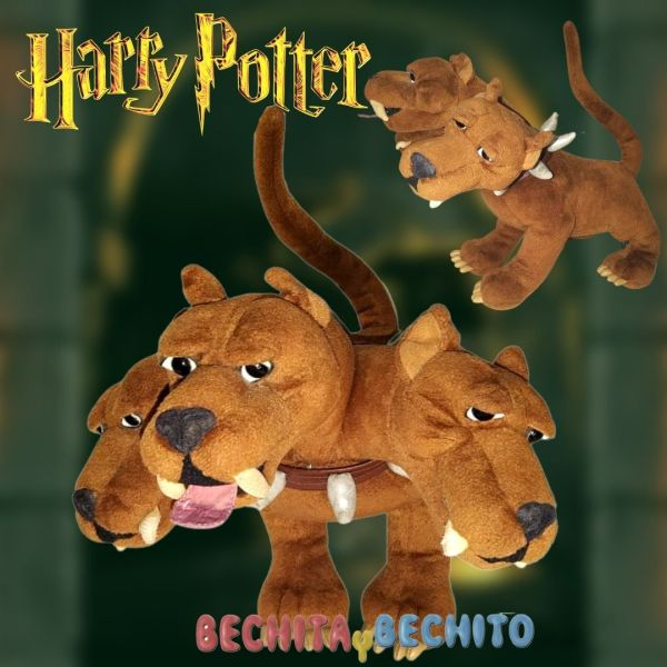Fluffy peluche Harry Potter
