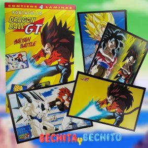 Dragon Ball GT Portafolio Saiyan Battle