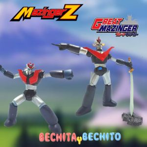 Mazinger Z y Gran Mazinger Figuras x2