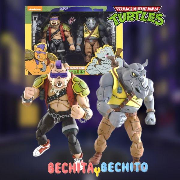 Rocksteady And Bebop TMNT Neca