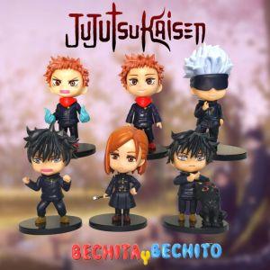 Jujutsu Kaisen set de 6 figuras