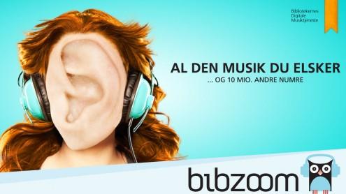 BibZoom kampagne med øre-ansigt