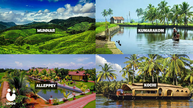 5 Famous Tourist Attractions of Kerala