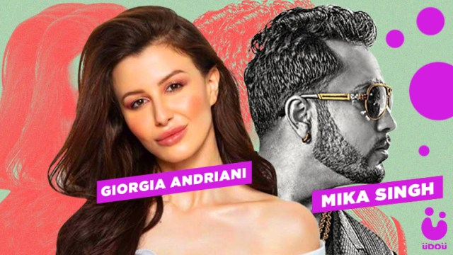 Mika Singh Collaborates with Giorgia Andriani For An Old Evergreen Bollywood Song