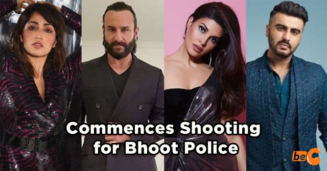Saif Ali Khan Commences Shooting for Horror Comedy Film 'Bhoot Police'