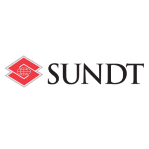 red and black Sundt Construction logo