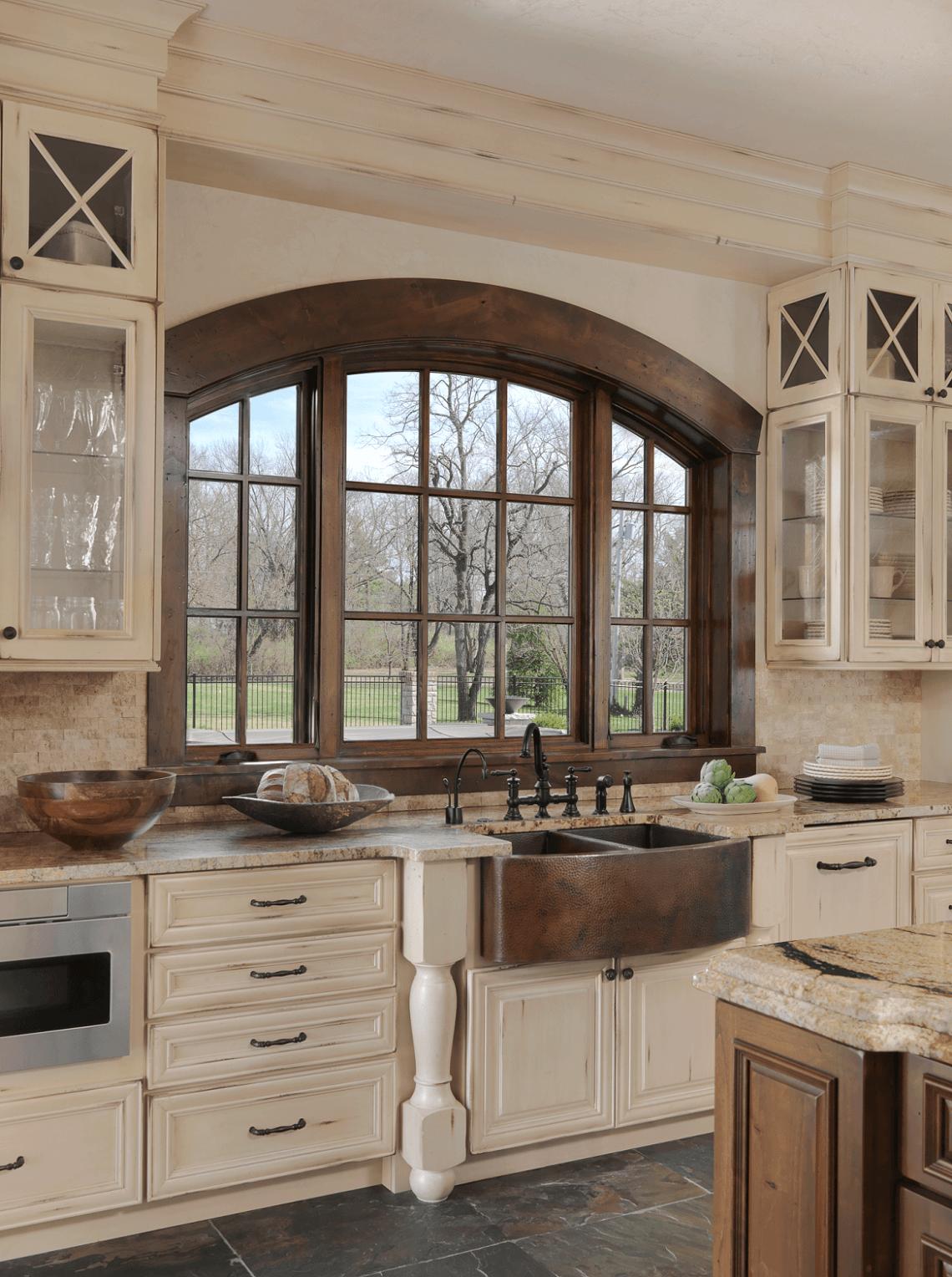 Old World Inspired Kitchen