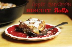 Apple Cinnamon Biscuit Rolls