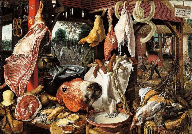 butcher stall