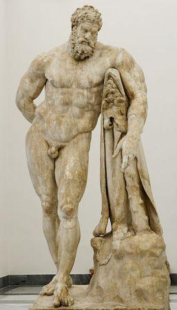 The Farnese Hercules.