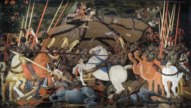 Uccello_Battle_of_San_Romano_II Uffizi