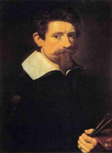 Self-Portrait of Adam Elsheimer (c. 1606-1607).