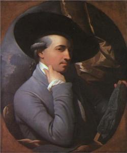 Self-Portrait of Benjamin West (1770).