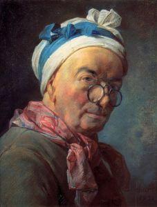 Self-Portrait of Jean-Baptiste-Simeon Chardin (1771).