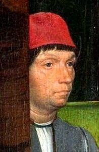 Self-Portrait of Hans Memling.