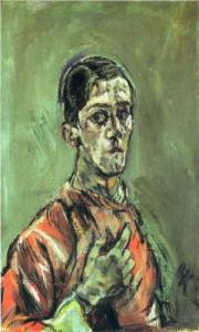 Self-Portrait of Oskar Kokoshka (1913).