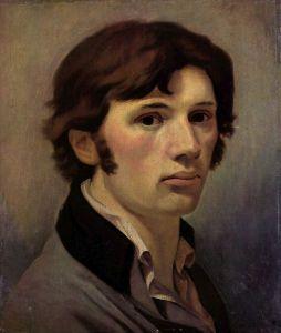 Self-Portrait of Philippe Otto Runge (1802-1803).