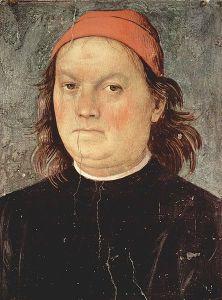 Self-Portrait of Pietro Perugino (1497-1500).