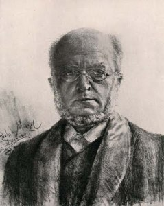 Self-Portrait of Adolph Menzel (1882).