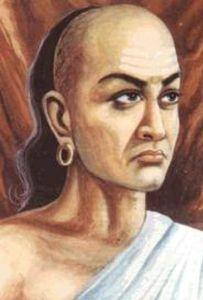 An artist's impression of Chanakya.