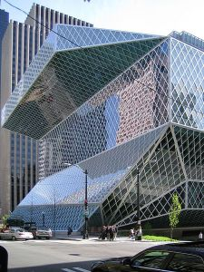 Seattle Central Library.